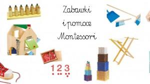 zabawki montessori, pomoce montessori