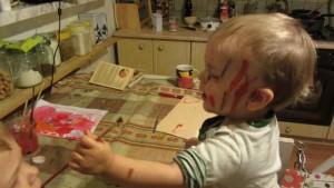 malowanie dla dzieci, farby dla dzieci