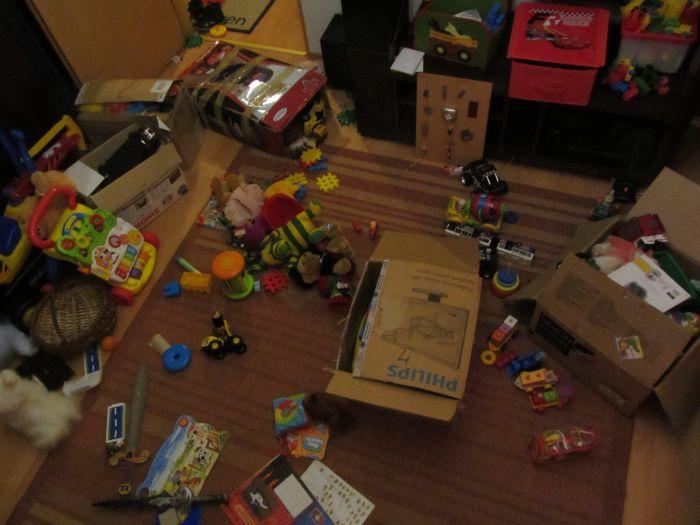 rotacja zabawek