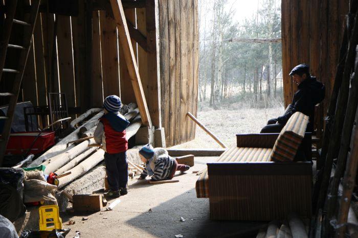 Pod opieką dziadka - zwiedzanie stodoły
