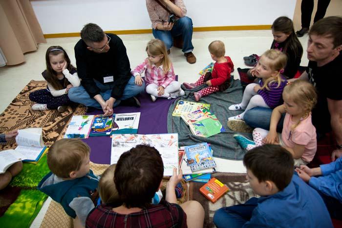 W ramach Nocy Muzeów czytaliśmy wiersze dzieciom