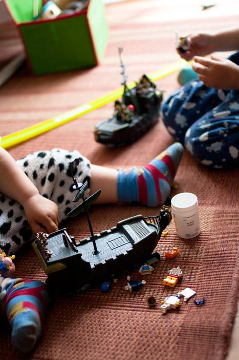 zabawa, piraci, statki