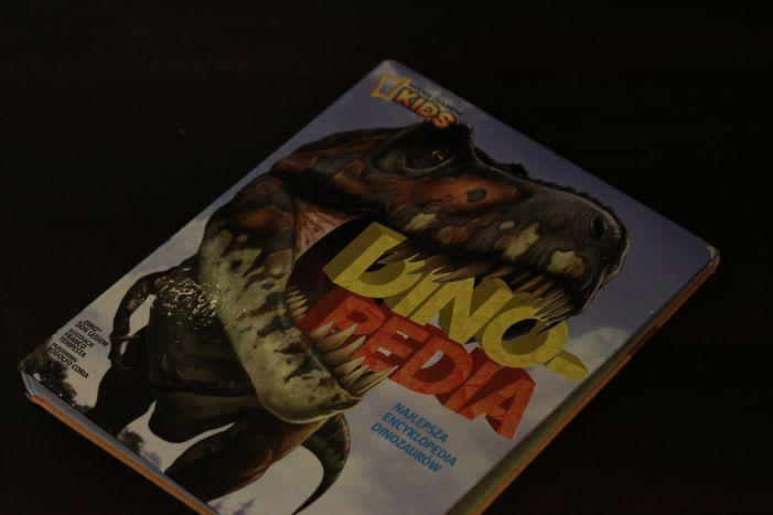 dinopedia książka o dinozaurach dla dzieci