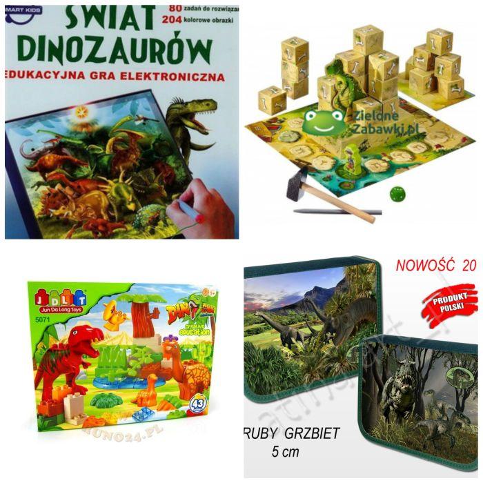 prezent dla czterolatka dinozaury
