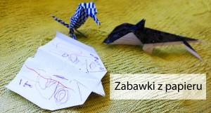 Zabawki z papieru i Lamelia Szczęśliwa