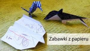 zabawki z papieru, lamelia szczęśliwa