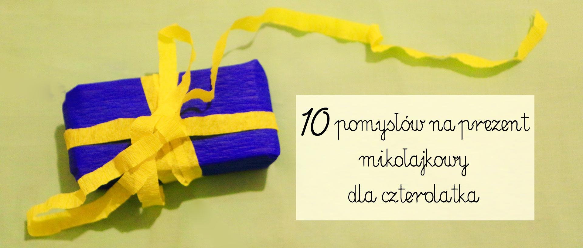 pomysł na prezent dla czterolatka, tani prezent mikołajkowy, prezent mikołajkowy dla czterolatka