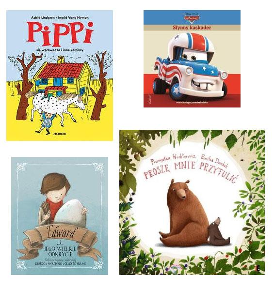 książki dla dzieci, ciekawe książki dla maluchów
