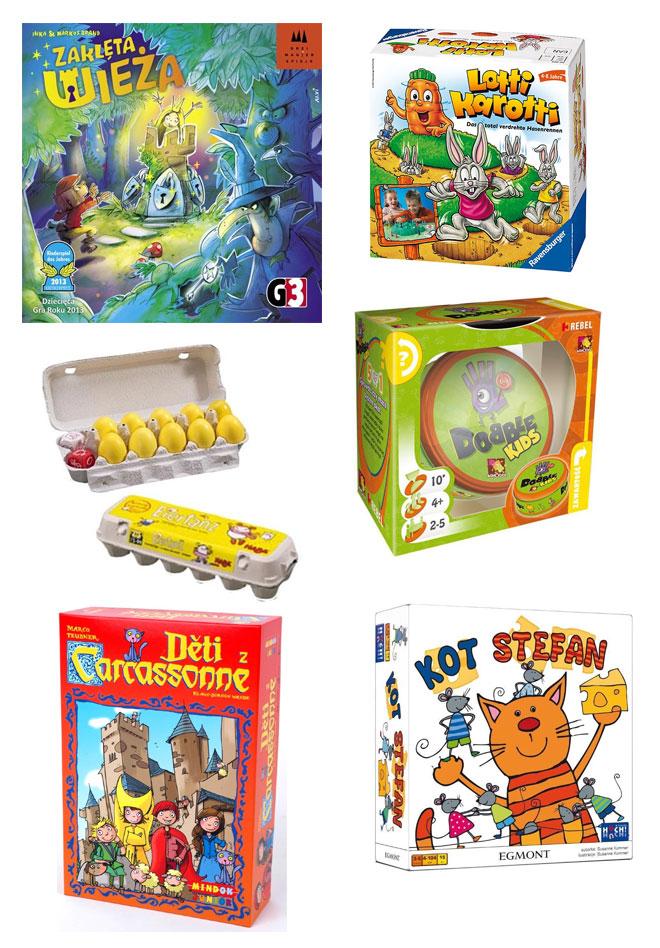prezent dla pięciolatka, gry dla pięciolatków, gra planszowa dla dzieci