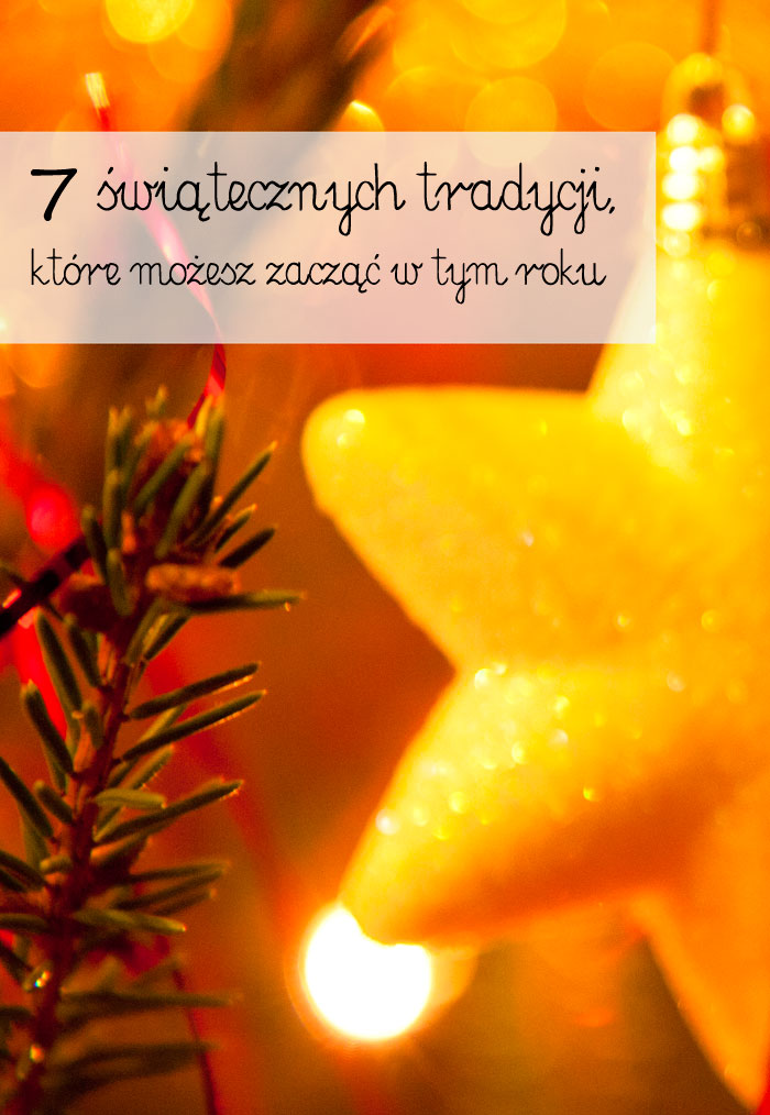 świąteczne tradycje, rodzinne święta, pierwsze święta z dzieckiem