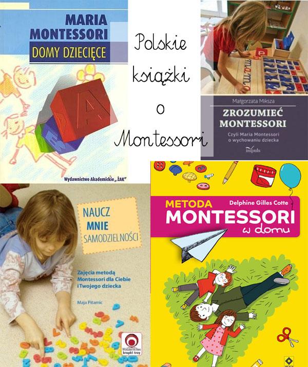 polskie książki o montessori, książki o montessori po polsku, książki o montessori dla rodziców