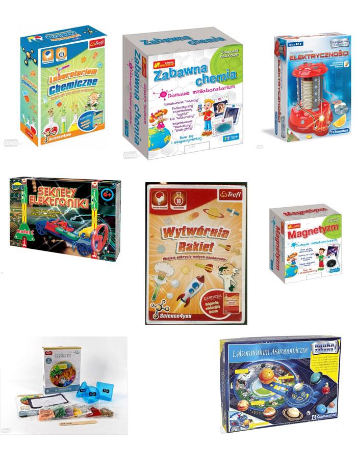 prezent dla chłopca, preznet dla sześciolatka, zabawki naukowe
