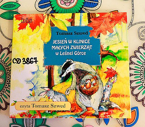 książki dla dzieci o jesieni, klinka małych zwierząt