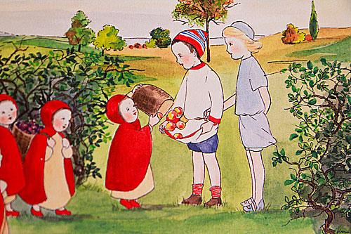 wietrzyk, sibylle von olfers, przygotowalnia, książki dla dzieci o jesieni
