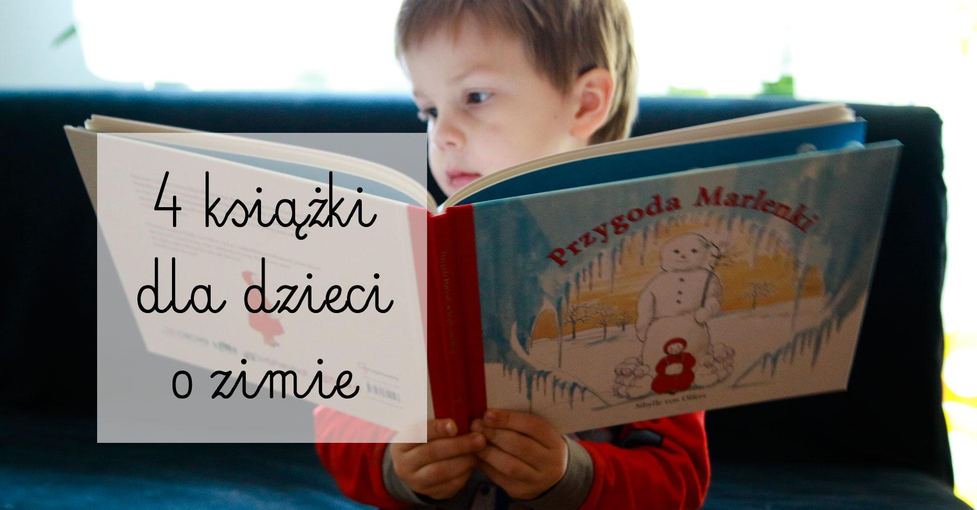 książki o zimie, książki dla dzieci, książki o zimie dla dzieci, przygody marlenki