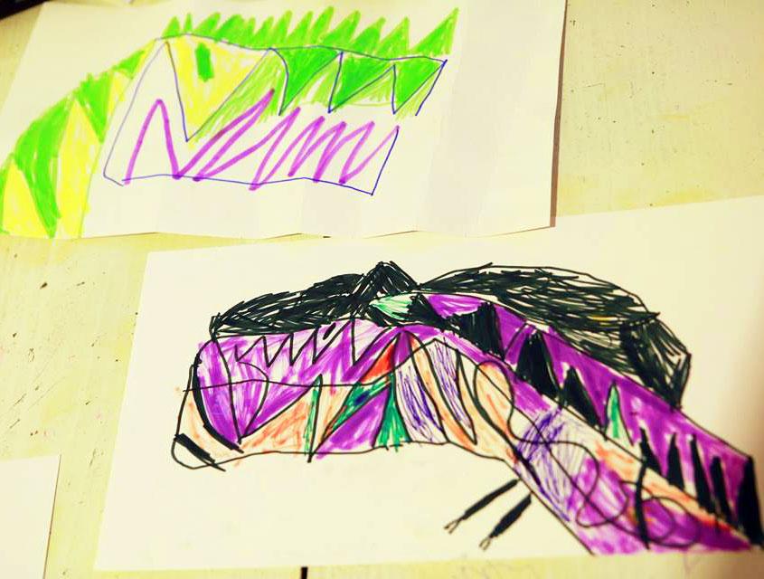 Dinozaury sześcioletniego Kluska