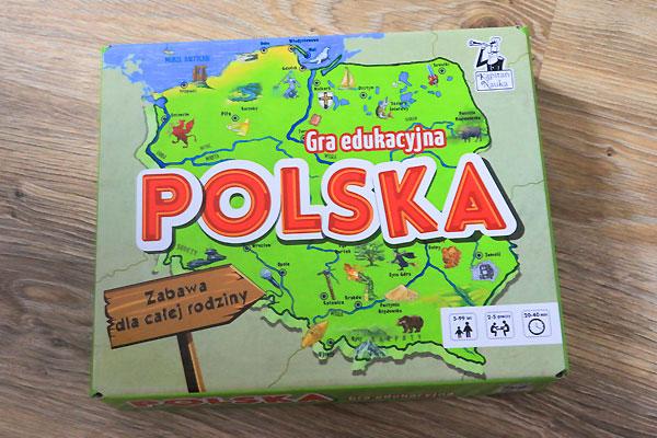 polska, kapitan nauka, geografia dla dzieci, gry planszowe dla dzieci