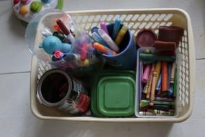 Przestrzeń do zabawy – cz. 6 – Kącik pracy twórczej