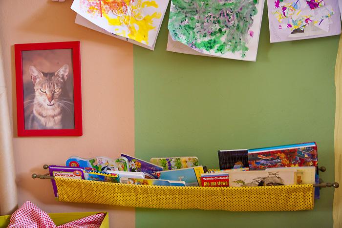 półka na książki dla dzieci