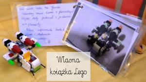 klocki lego, książka lego, własna książka lego