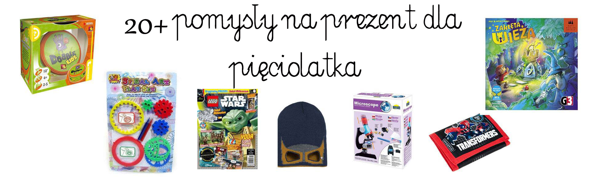 prezent dla pięciolatka, prezent dla przedszkolaka, prezent dla chłopca