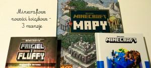 Minecraftowe nowości książkowe, czyli pomysł na świąteczny prezent dla fanów Minecraft